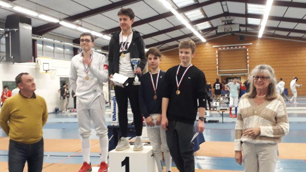 Compétitions Colmar Caluire Tassin Victor