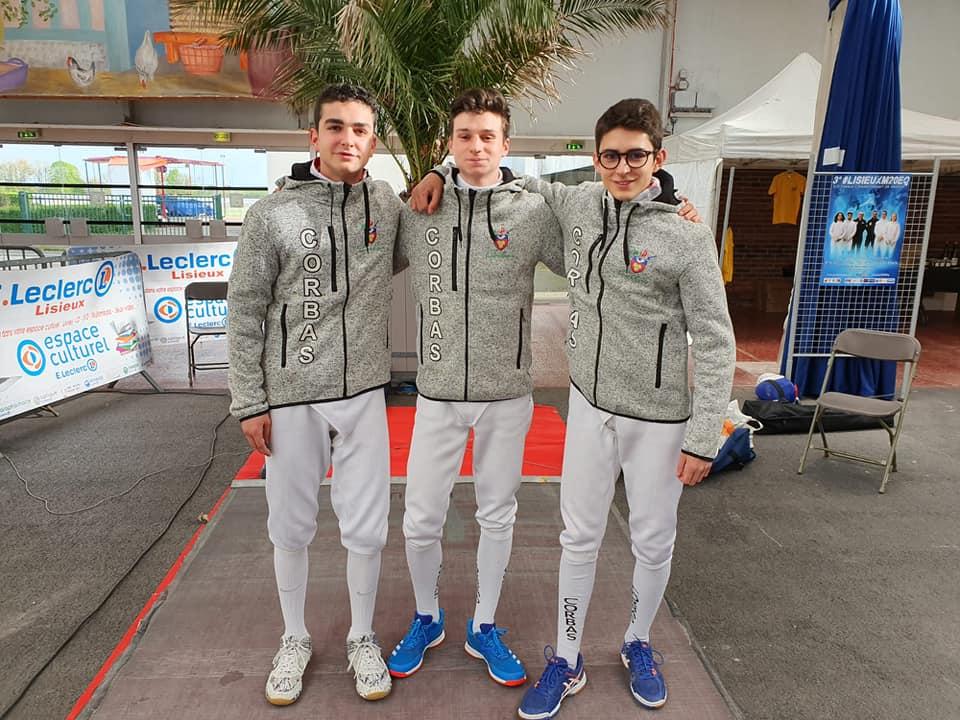 Championnat de France M20 Epée